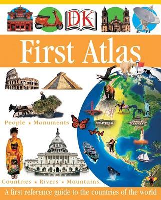 Dk First Atlas By Ganeri, Anita